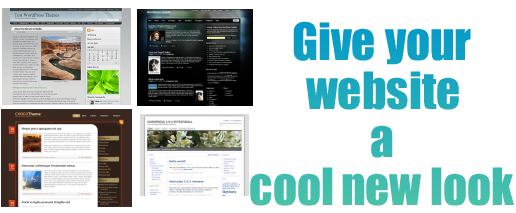 Give your website a cool new look
